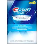 Crest 3D White Whitestrips Classic Vivid Teeth Whitening Kit, 10 Treatments