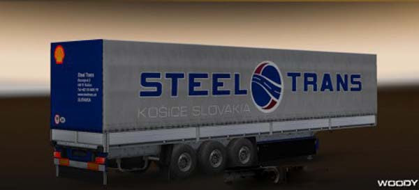 Steel Trans skin for trailer