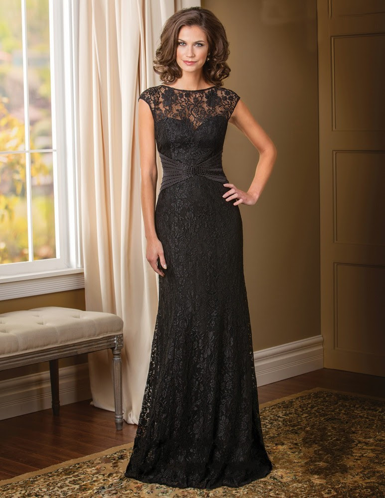 vintage black lace groom mother of the bride lace dresses