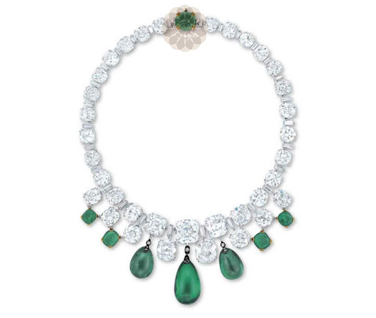 Buy Green Stone Choker Silver Necklace At Wholesale Prices