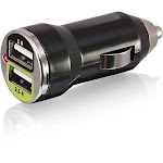 Bracketron Pro Series Dual USB Charger Car power adapter