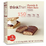 Think Thin Protein & Fiber Bars S'mores