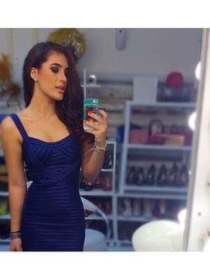 Lívian Aragão exibe cinturinha em foto postada no Instagram Foto: @livianaragao/ Instagram / Reprodução