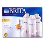 Water Filter Refills - Brita Pitcher Replacement Filter For Great Tasting Water - 3 Ea