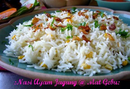 Nasi Ayam Jagung