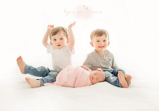 Newborn Baby Photography in MA – Party of Three