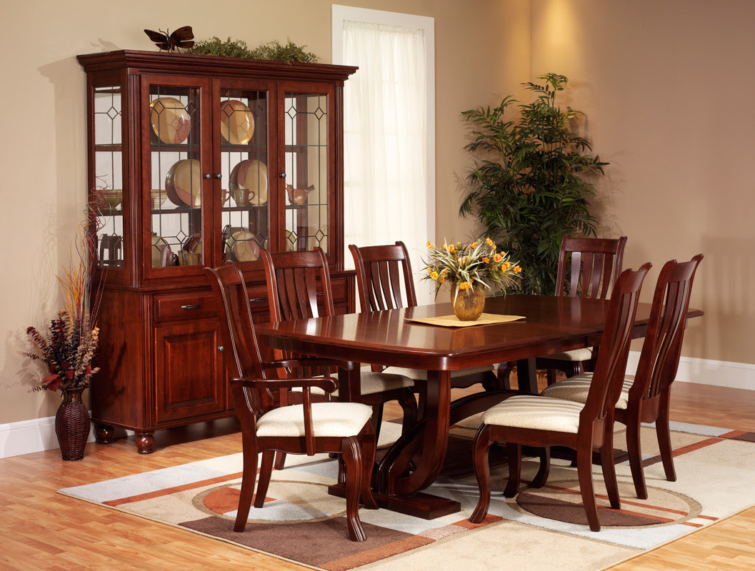 Hampton Dining Room  Amish Furniture Designed