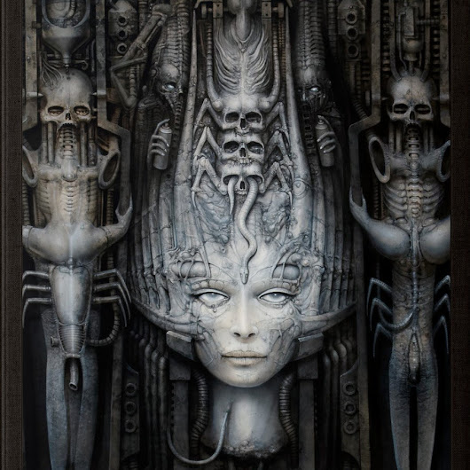 A Disturbingly Beautiful Tribute to H.R. Giger's Nightmarish Work