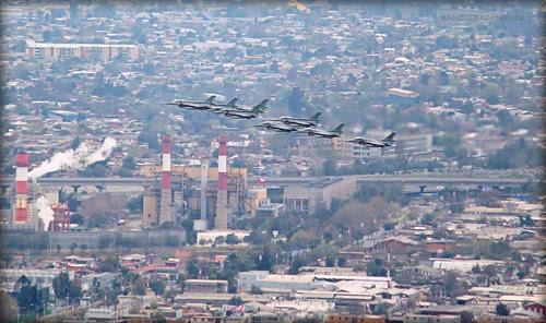 F-16 BLOCK 50   FACH by Pablo C.M    BANCOIMAGENES.CL