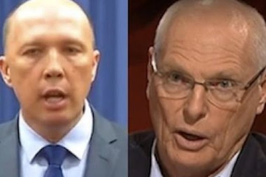 How Dutton and Molan justify the heinous
