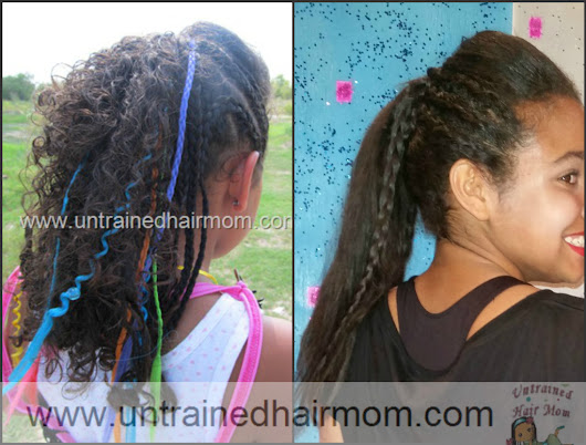 Hip Hop Dance Hairstyle Straightened Curly Hair