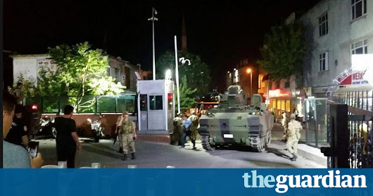 Turkey coup attempt: gunfire in Ankara as military aircraft fly over capital | World news | The Guardian