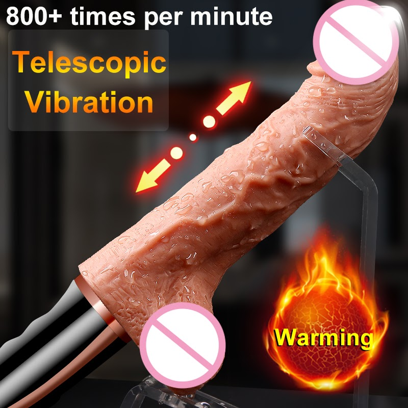 Recommended  Automatic Telescopic Dildo Big Dildo Vibrator Realistic Huge Penis Sex Toy Heating Real Dick Magnet