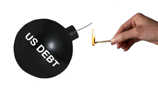In a World Drowning in Debt the US Stands Out - Peter Schiff's Gold News