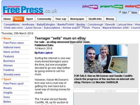 Reprodução/Doncaster Free Press