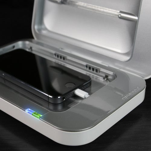 PhoneSoap Charger & Sanitizer | The Gadget Flow