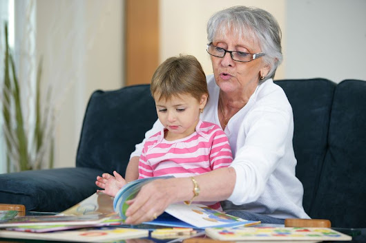 Talking to grandchildren about hearing loss