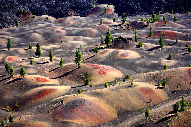 IMG_1095 Painted Dunes, Cinder Cone Trail, Lassen Volcanic National Park