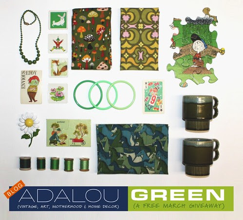 FREE GREEN GIVEAWAY!