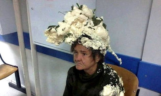 Woman in hospital after 'confusing builder's foam with mousse'