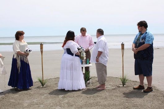 Happy Day for Andy & Sharon - North Myrtle Beach Romantic Wedding