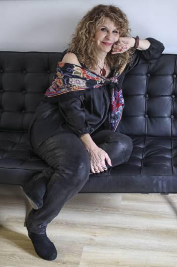 Gioconda Belli, retratada en Barcelona.