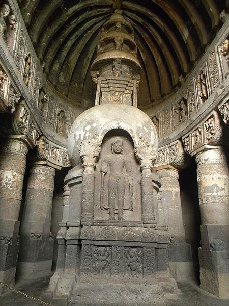 File:Another Stupa of Ajanta.JPG