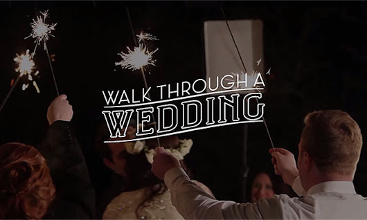 Walk Through a Wedding: 20 BTS Videos That Cover a Wedding from Start to Finish