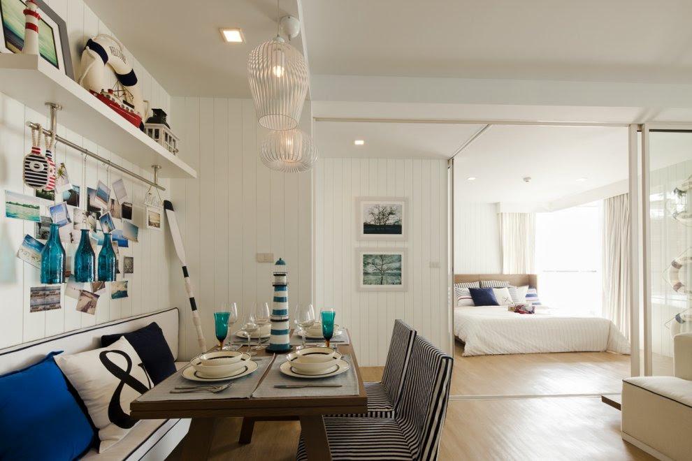 Nautical Home Design - Homemade Ftempo