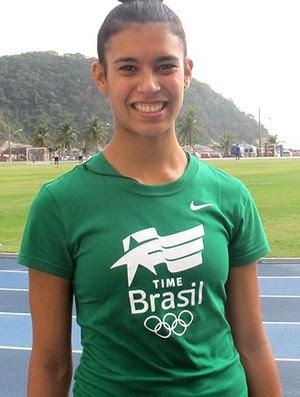Tamiris de Liz atletismo (Foto: Editoria de Arte)