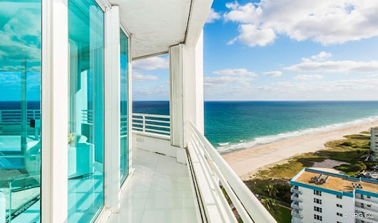 Residence 18D at Cristelle, Luxury Oceanfront Condominiums in Lauderdale by the Sea, Florida 33062.
