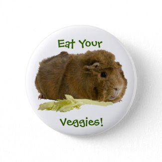 Eat Your Veggies! button