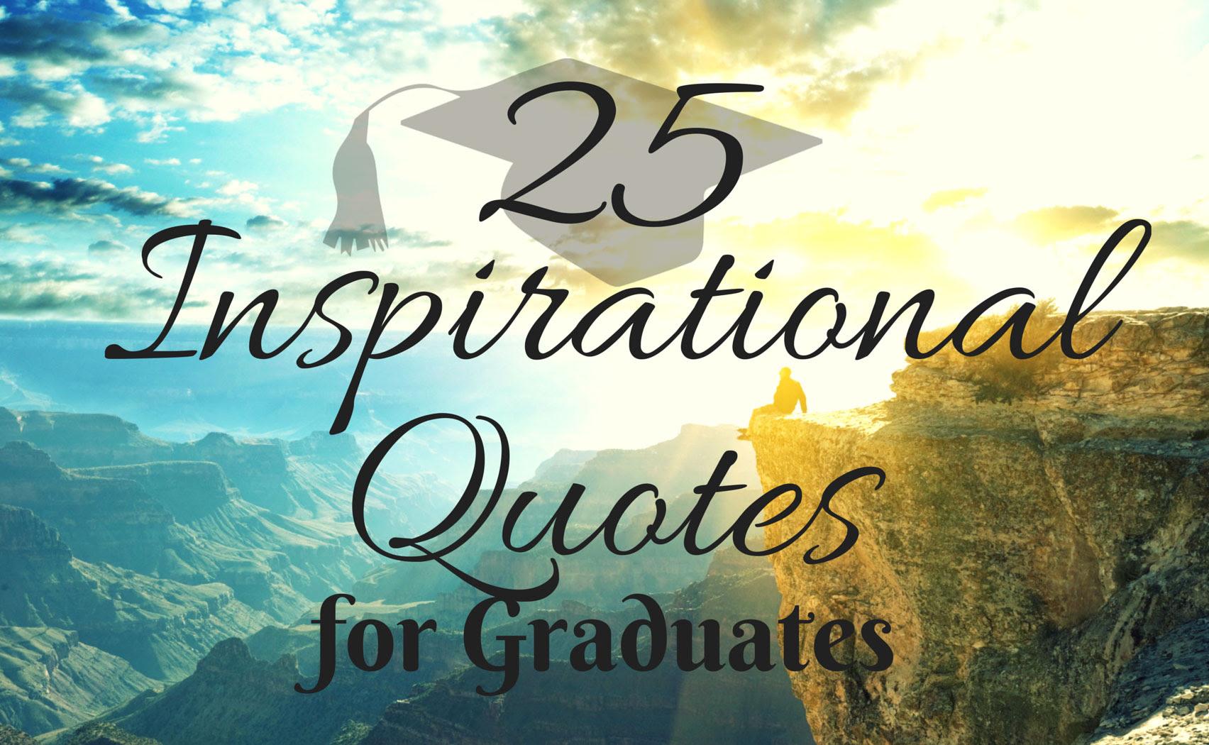 IZA Design Blog|25 Inspirational Quotes for Graduates