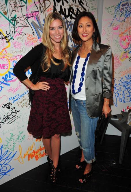 Alexandra Lind Rose and Adelina Wong Ettelson