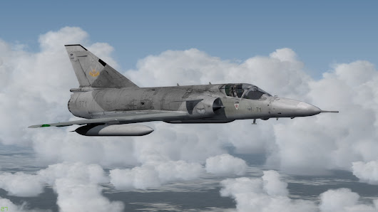 FSX P3D Atlas Cheetah South African Air Force Military aircraft
