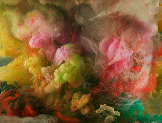 Abstract images - L'astrattismo liquido di Kim Keever