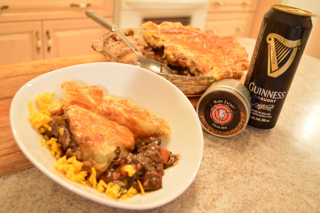 How to Bake Napa Jack's Steak & Guinness Pie Video | The ...