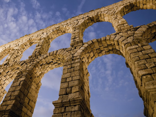 Aqueduct of Segovia, Segovia, Spain