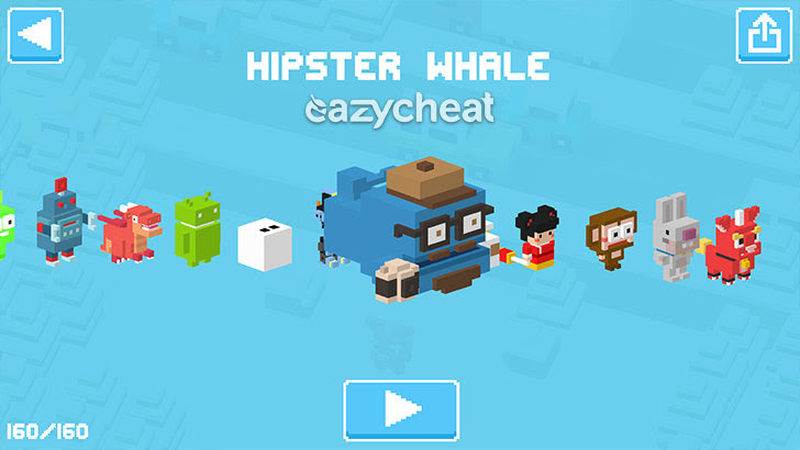Crossy Road v1.6.1 Cheats
