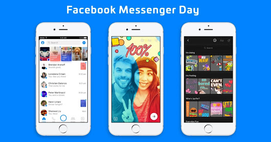 Facebook launches Snapchat-type feature Messenger Day for Messenger