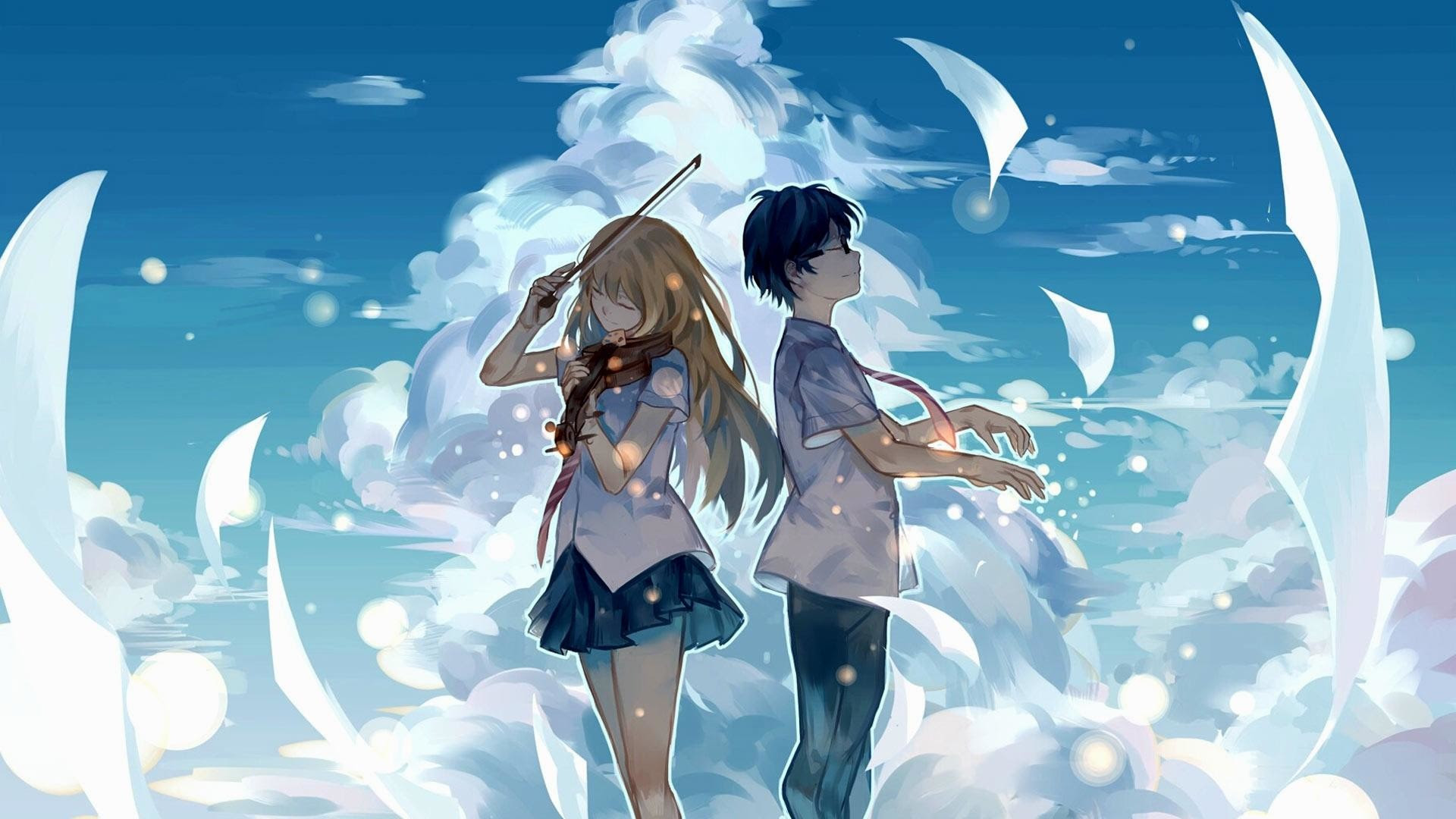 100+ Wallpaper Anime Keren Buat Android  Gratis