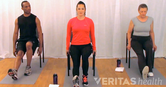 3 Standing or Seated Herniated Disc Exercises