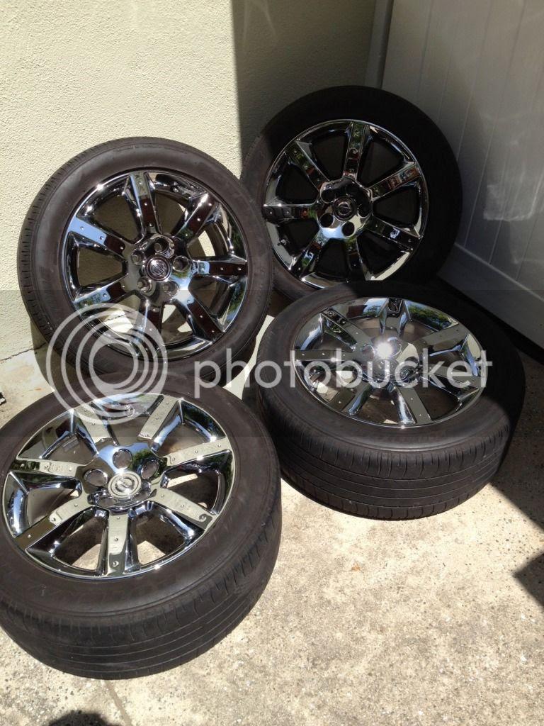 Fs Nissan 350z Oem Chrome Rims Cheap Nissan Forum Nissan Forums