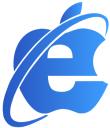 IEs4Mac first logo