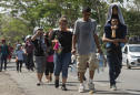 Caravan of 40 Salvadoran migrants sets out for US border