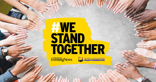 #WeStandTogether - help us teach kids about peace and celebrate kindness