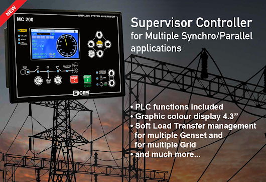 New Genset Controller: MC200