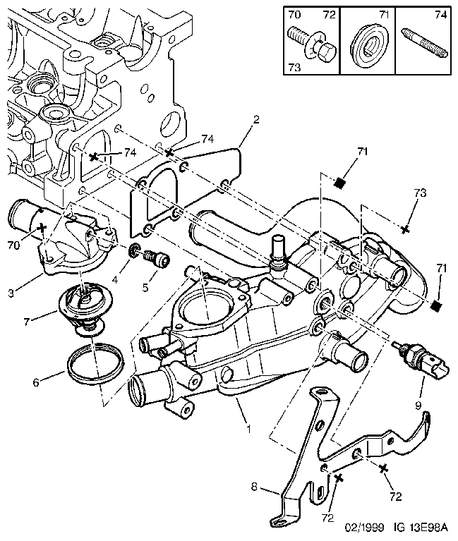 Peugeot 406 Coupe Wiring Diagram