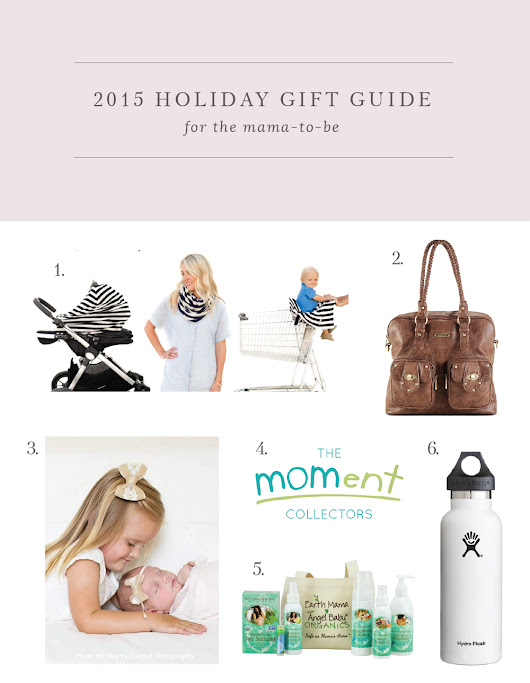 Holiday Gift Guide for Mamas & Babies
