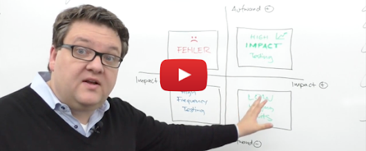 Conversion Whiteboard 3: 4-Felder-Modell des A/B-Testings